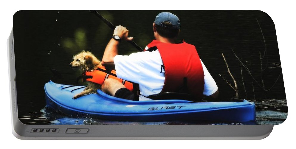 Photo Portable Battery Charger featuring the photograph First Mate by Tami Quigley