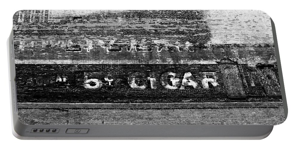 Cigar Portable Battery Charger featuring the photograph Five Cent Cigar by David Lee Thompson