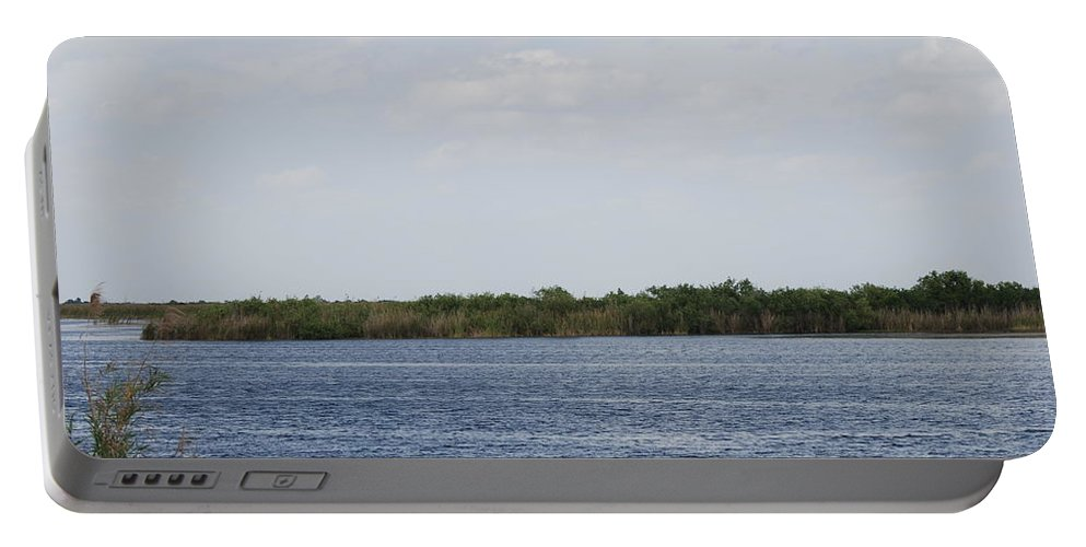 Water Portable Battery Charger featuring the photograph Fla Everglades by Rob Hans