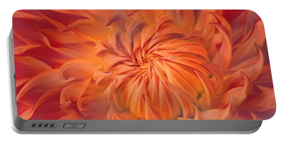 Flower Portable Battery Charger featuring the photograph Flame by Jacky Gerritsen