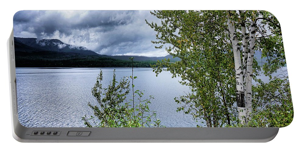 Lake Portable Battery Charger featuring the photograph Flathead Lake 5 by Darrell Mcgahhey
