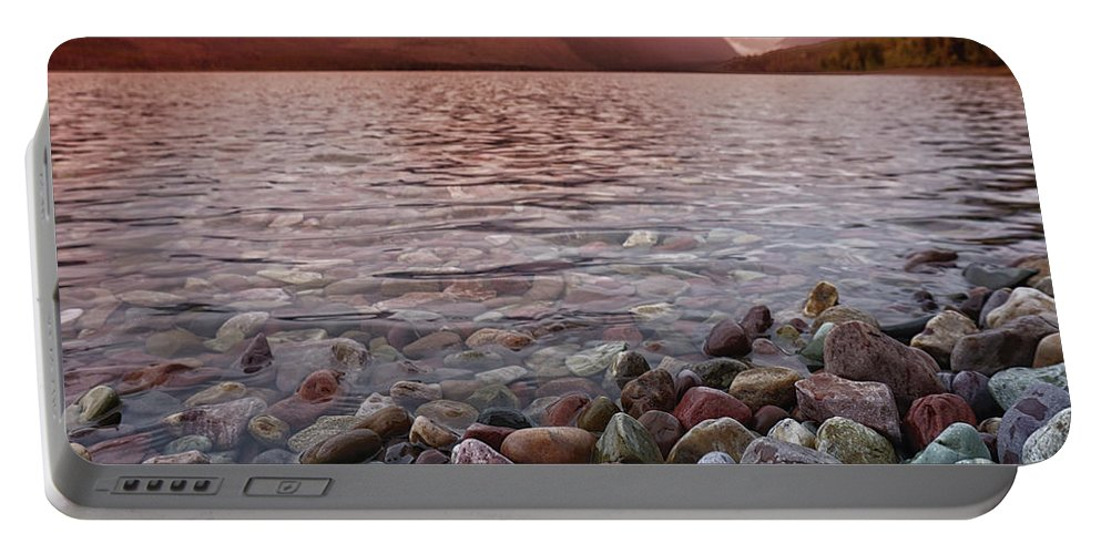 Lake Portable Battery Charger featuring the photograph Flathead Lake 7 by Darrell Mcgahhey
