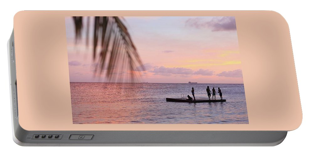 Landscape Portable Battery Charger featuring the photograph Floating Dream by Lucas Van Es