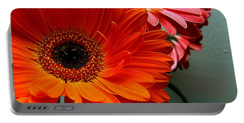 Clay Portable Battery Charger featuring the photograph Floral Art by Clayton Bruster
