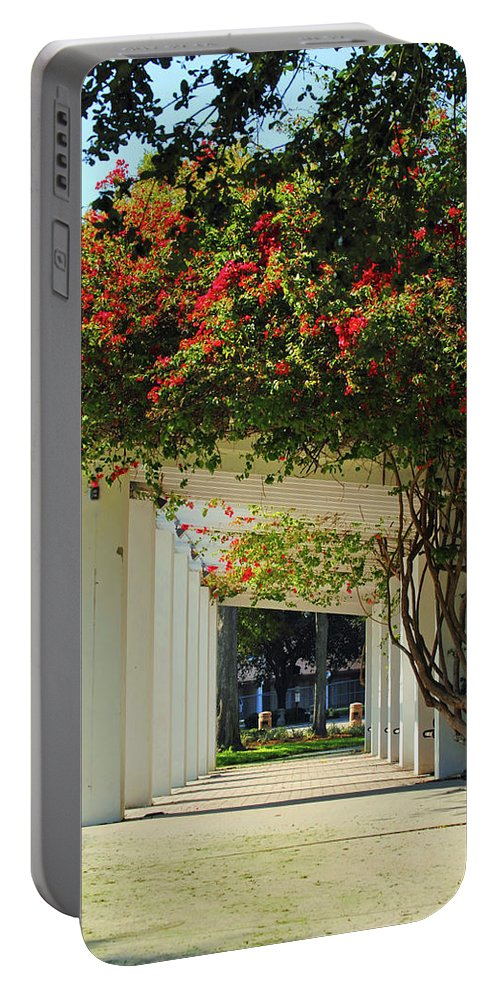 St Petersburg Portable Battery Charger featuring the photograph Floral Or Art by Jost Houk