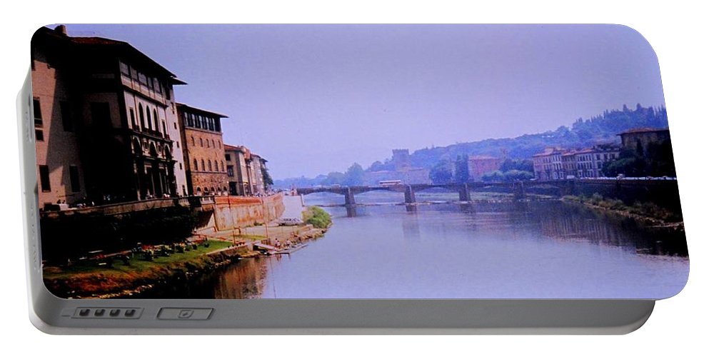Florence Portable Battery Charger featuring the photograph Florence by Ian MacDonald