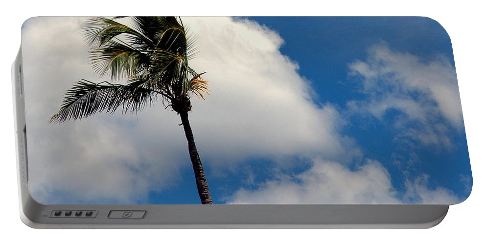 Photography Portable Battery Charger featuring the photograph Florida Clouds by Susanne Van Hulst