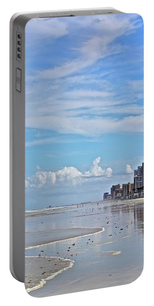 Beach Portable Battery Charger featuring the photograph Florida Fun by Diana Hatcher