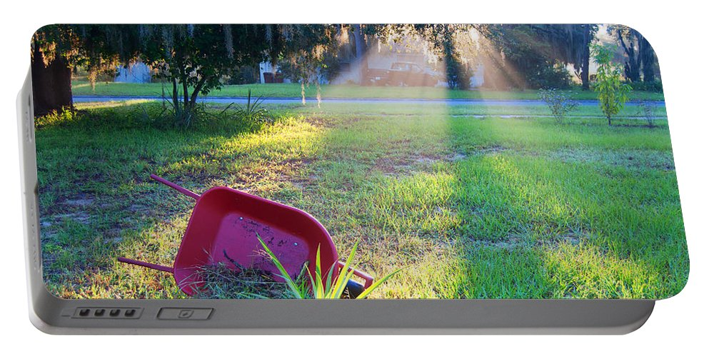 Florida Portable Battery Charger featuring the photograph Florida Home by George D Gordon III