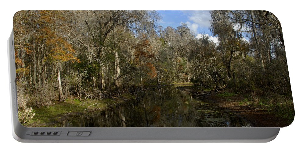 Wetlands Portable Battery Charger featuring the photograph Florida Wetlands by David Lee Thompson