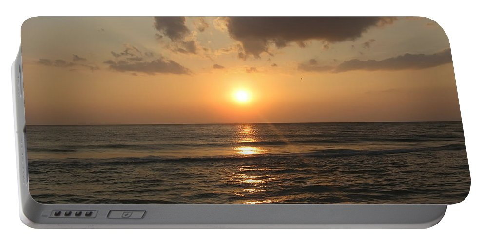 Florida Portable Battery Charger featuring the photograph Florida's West Coast - Clearwater Beach by Bill Cannon