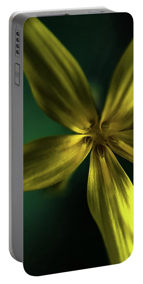 Macro Portable Battery Charger featuring the photograph Flower by Becs Craven Photography