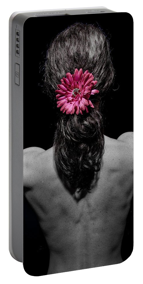 Flower Portable Battery Charger featuring the photograph Flower by Scott Sawyer
