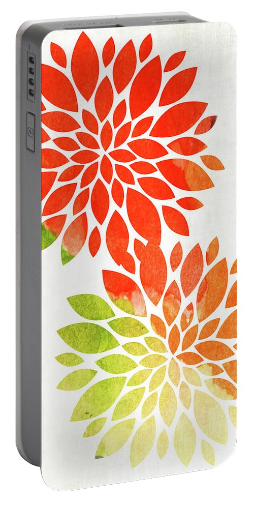 Floral Portable Battery Charger featuring the photograph Flowers by Andrea Anderegg