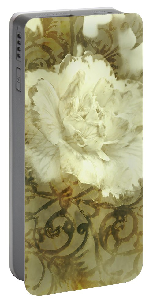 Flower Portable Battery Charger featuring the photograph Flowers By The Window by Jorgo Photography - Wall Art Gallery