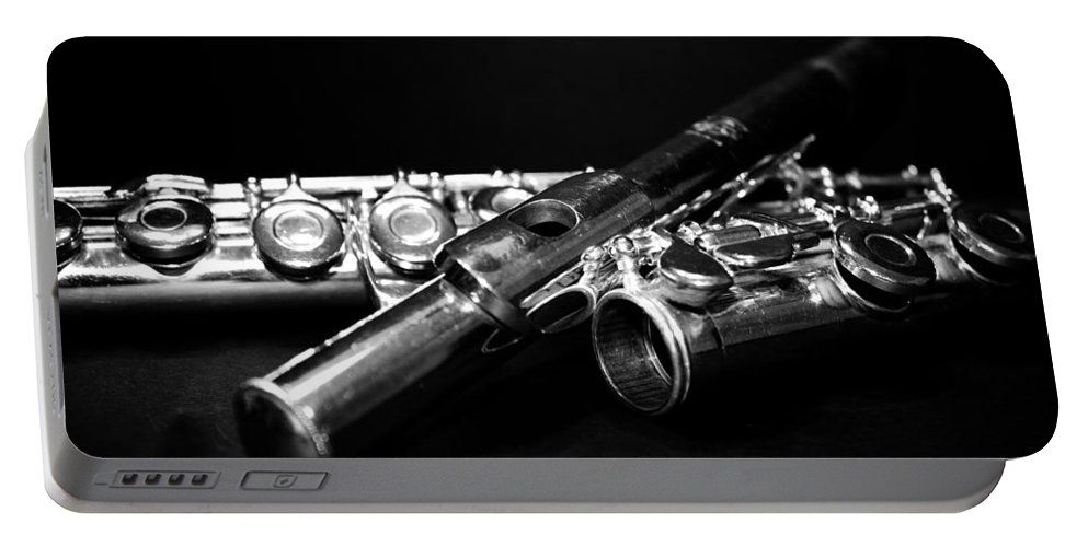 Lauren Radke Portable Battery Charger featuring the photograph Flute Series I by Lauren Radke