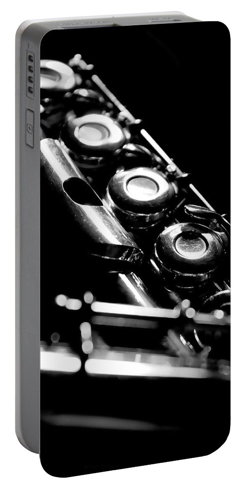 Lauren Radke Portable Battery Charger featuring the photograph Flute Series IIi by Lauren Radke