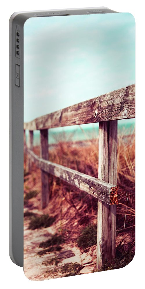 Portable Battery Charger featuring the photograph Follow Me by Sue Conwell