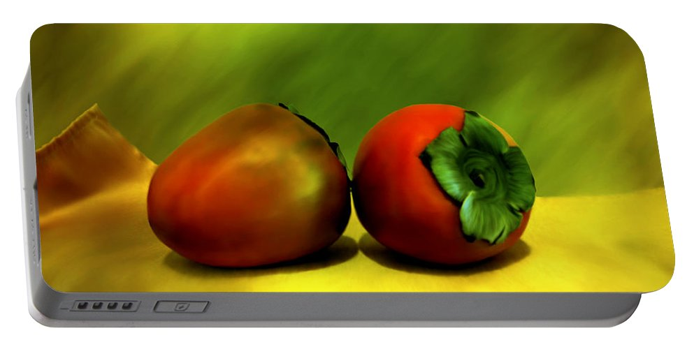 Still Life Portable Battery Charger featuring the photograph Food For The Gods by Kurt Van Wagner