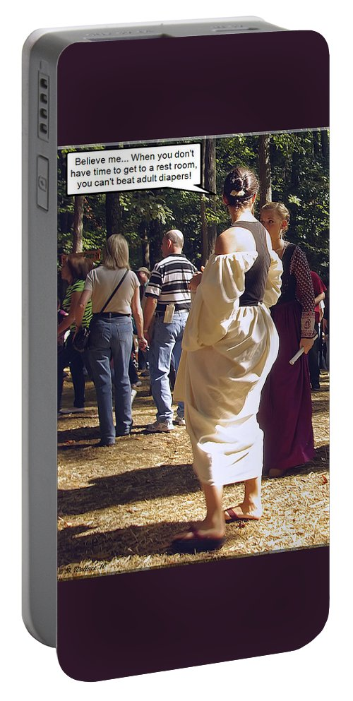 2d Portable Battery Charger featuring the photograph For Adults by Brian Wallace