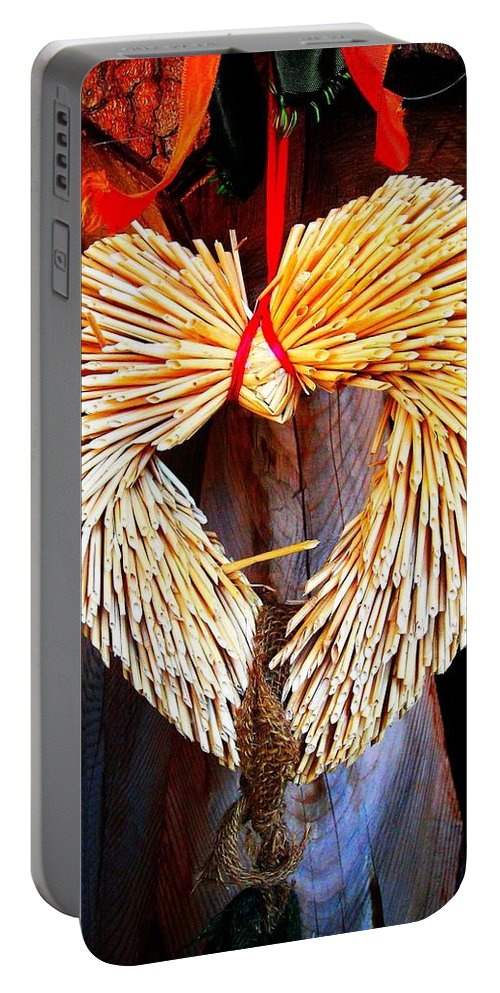 Heart Portable Battery Charger featuring the photograph For You ... by Juergen Weiss
