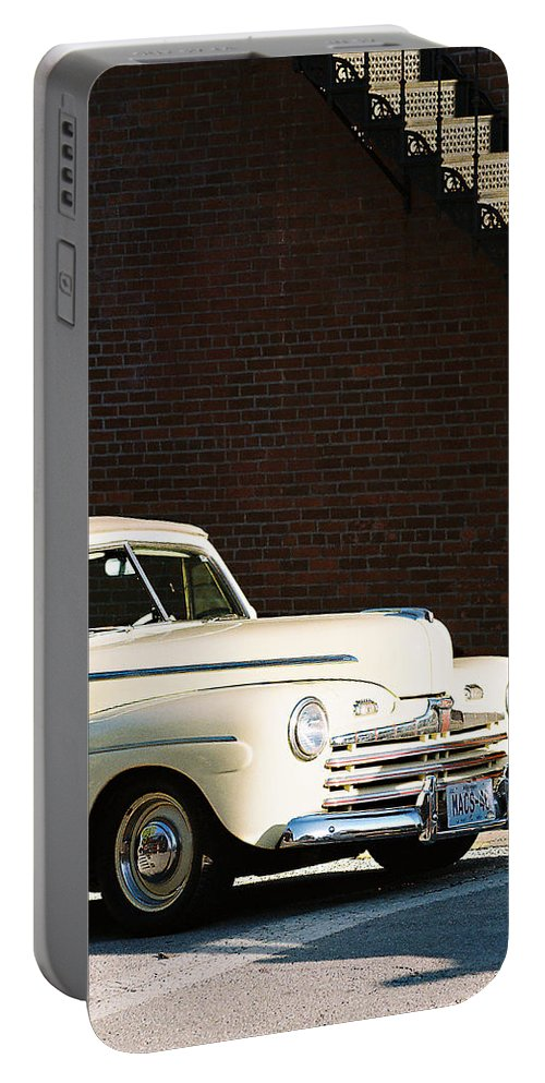 Car Portable Battery Charger featuring the photograph Ford by Steve Karol