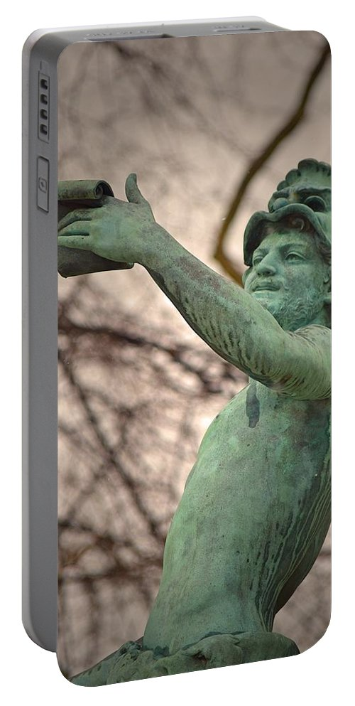 France Portable Battery Charger featuring the photograph Forever Happy by Valerie Dauce