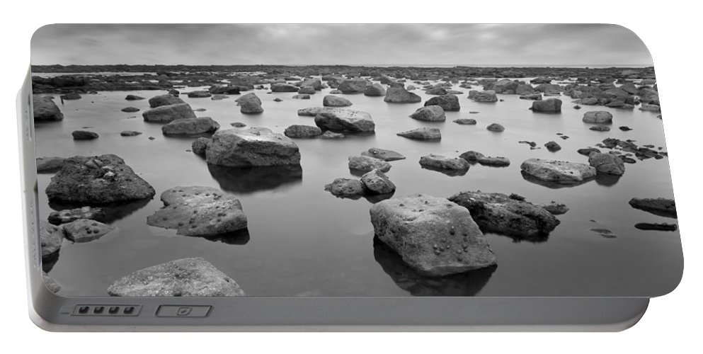 Bay Portable Battery Charger featuring the photograph Forever Rocks by Svetlana Sewell