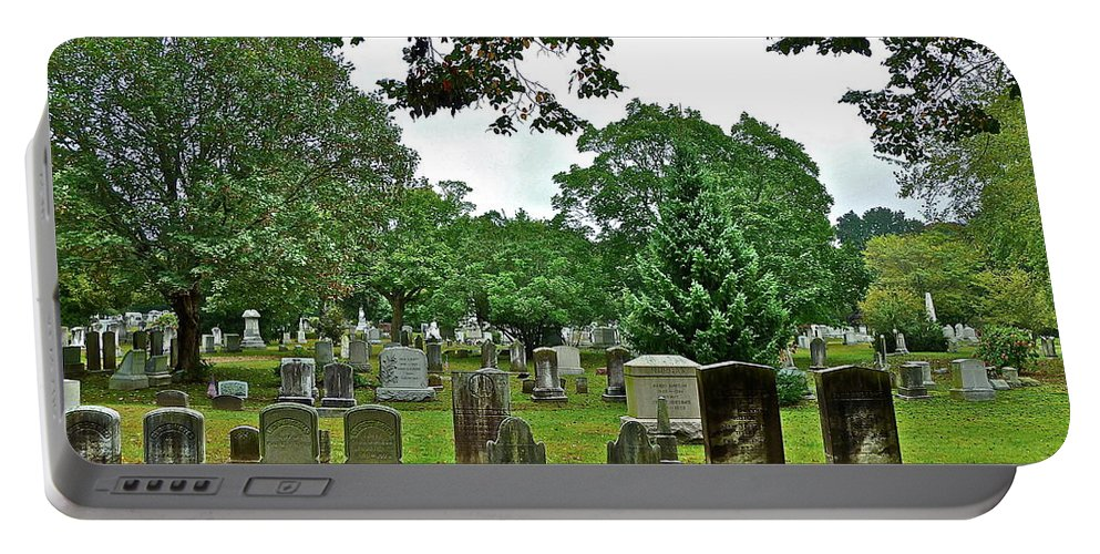 Graves Portable Battery Charger featuring the photograph Former Neighbors by Diana Hatcher