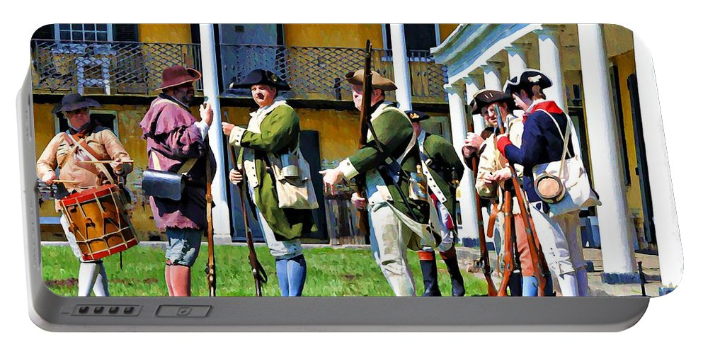 Soldiers Portable Battery Charger featuring the photograph Fort Mifflin - Philadelphia by Bill Cannon