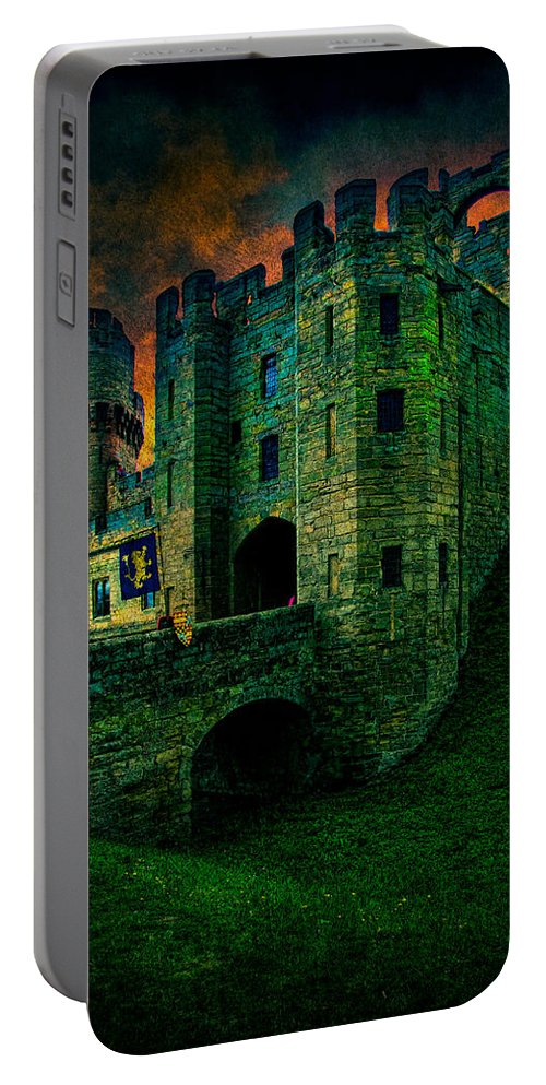 Castle Portable Battery Charger featuring the photograph Fortress by Chris Lord