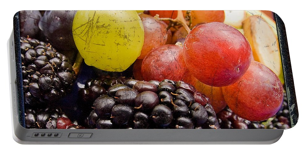 Fruit Portable Battery Charger featuring the photograph Fresh Not Frozen by Jeffery Ball