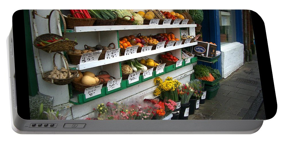 Shaftesbury Portable Battery Charger featuring the photograph Fresh Produce by Tim Nyberg