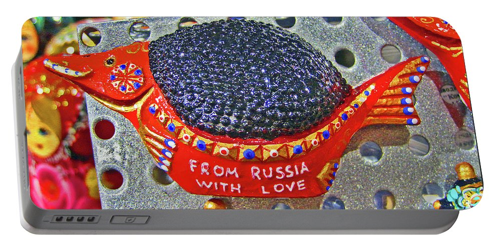 From Russia With Love Portable Battery Charger featuring the photograph From Russia With Love. by Andy Za