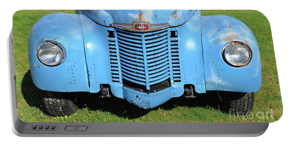 Front End Portable Battery Charger featuring the photograph Front End Of International by Wanda-Lynn Searles