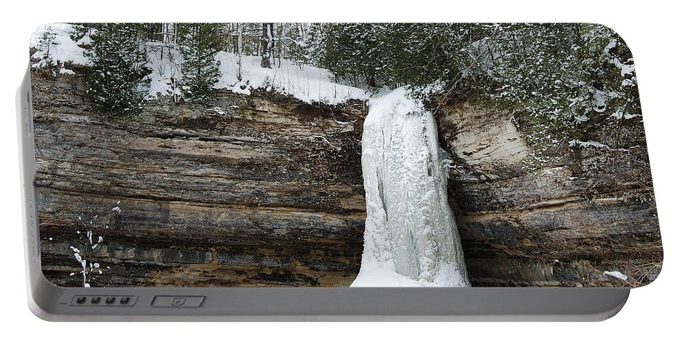 Landscape Portable Battery Charger featuring the photograph Frozen In Time by Michael Peychich