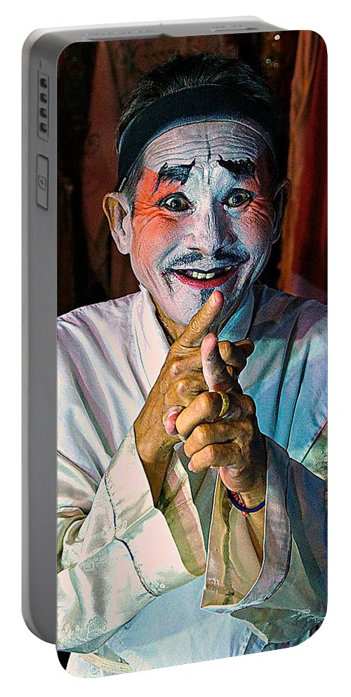 China Portable Battery Charger featuring the photograph Fun At The Opera by Ian Gledhill