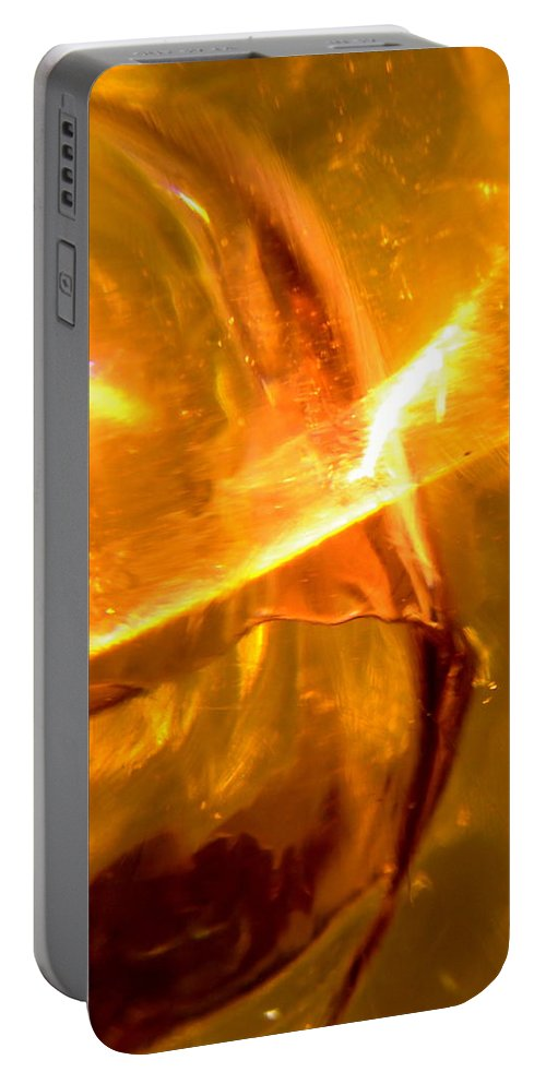 Outer Space Portable Battery Charger featuring the photograph Galaxies 180 by Stephanie Moore