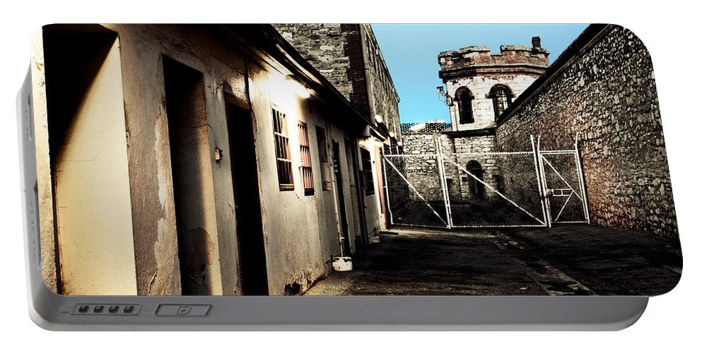 Old Portable Battery Charger featuring the photograph Gaol by Kelly Jade King