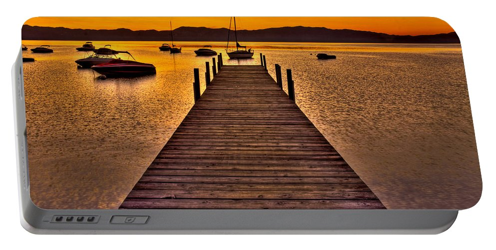 Lake Tahoe Portable Battery Charger featuring the photograph Gateway by Scott Mahon