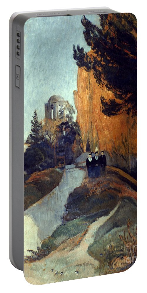 1888 Portable Battery Charger featuring the photograph Gauguin: Alyscamps, 1888 by Granger