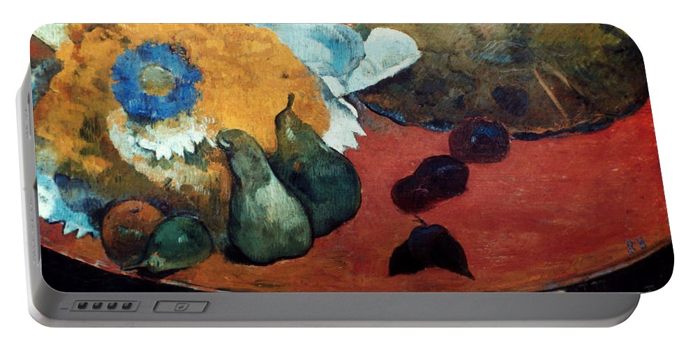 1888 Portable Battery Charger featuring the photograph Gauguin: Fete Gloanec, 1888 by Granger