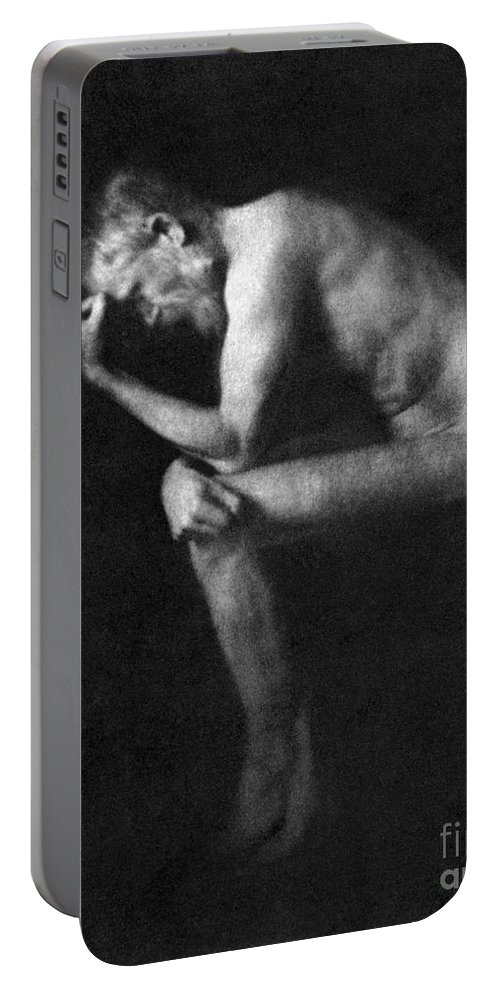 19th Century Portable Battery Charger featuring the photograph George Bernard Shaw by Granger