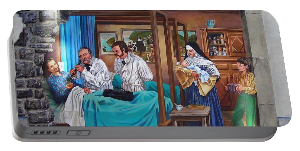 Paint Portable Battery Charger featuring the photograph Get Well Soon ... by Juergen Weiss