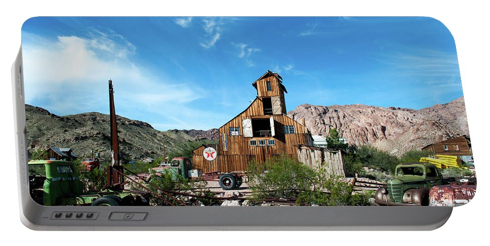 Ghost Town Portable Battery Charger featuring the photograph Ghost Town by Michelle Rollins