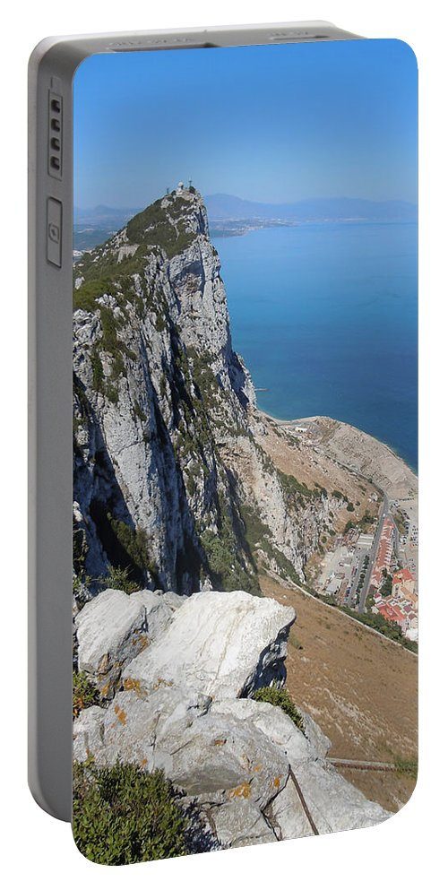 Europe Portable Battery Charger featuring the photograph Gibraltar by Heather Coen