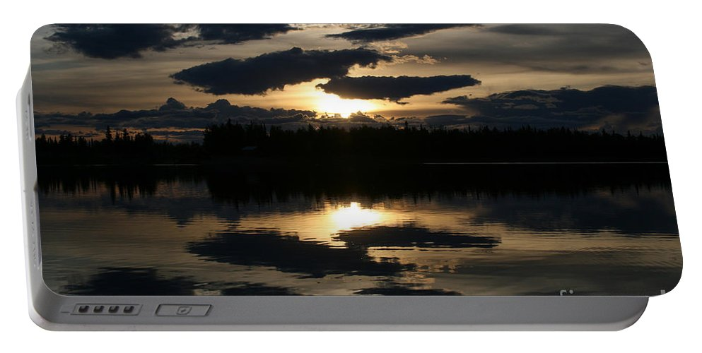 Chena Lakes Portable Battery Charger featuring the photograph Gifts Of The Heart by Sharon Mau