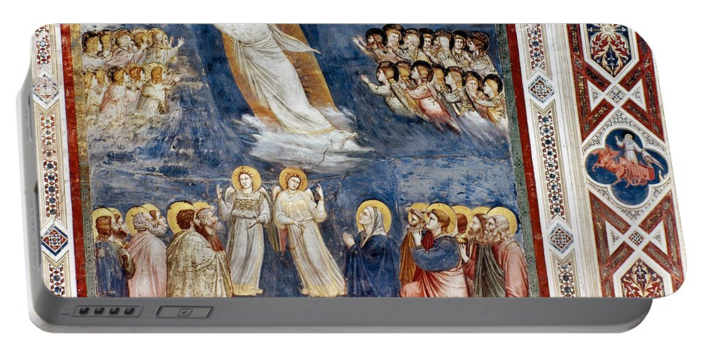 1305 Portable Battery Charger featuring the photograph Giotto: Ascension by Granger