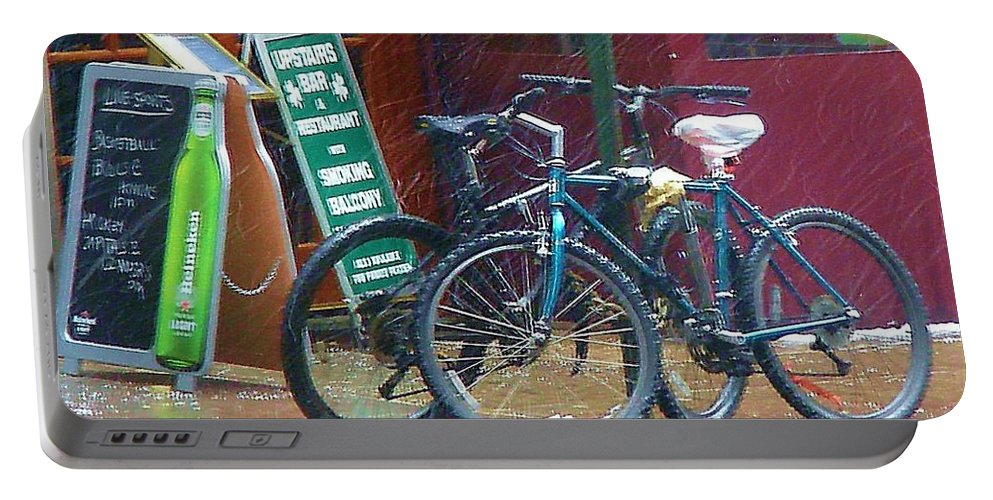 Bike Portable Battery Charger featuring the photograph Give Me Shelter by Debbi Granruth