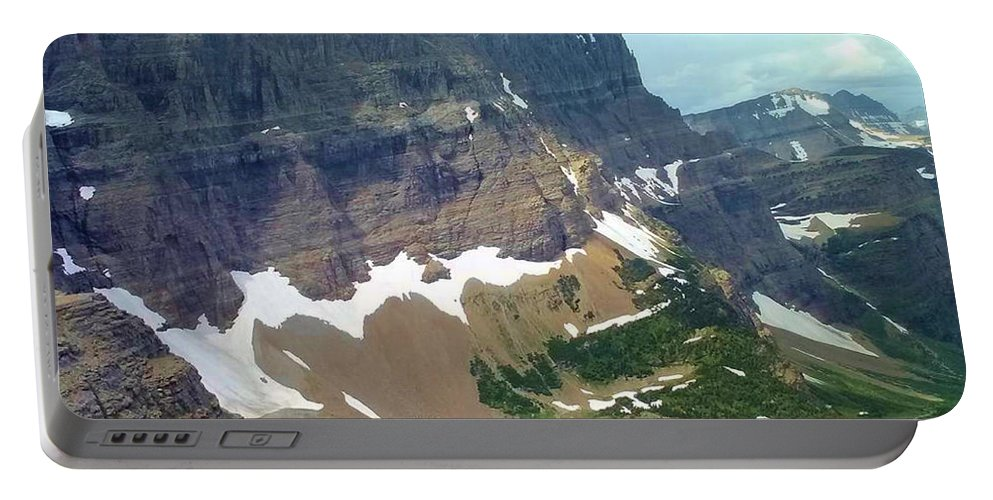 Mountain Portable Battery Charger featuring the photograph Glacial Pond by Eric Fellegy